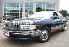 "1994-1996 Cadillac DeVille 4Dr Sedan Chrome Rocker Panel Trim Body Side FL 9"""