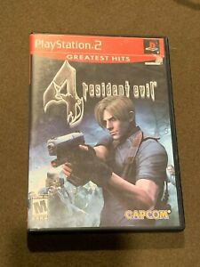 Sony-PlayStation-PS2-Resident-Evil-4-Greatest-Hits-Video-Game-Rated-M