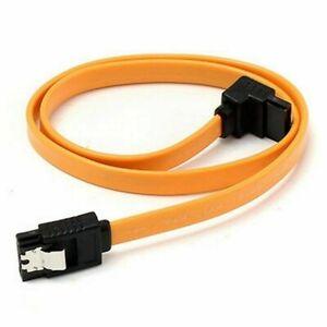 40cm SATA III ATA Right Angle Plug High Speed HDD SSD Locking Plug Cable Lead