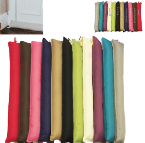 Quality Cold Insulator Washable Cover Tan Fur Designed Fabric Draught Excluders
