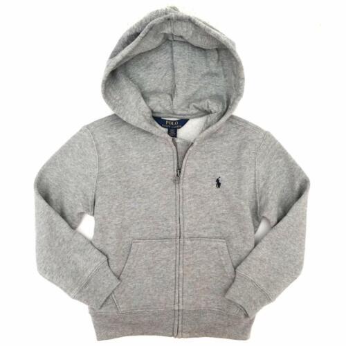 Size XL *Polo Ralph Lauren Boy/'s Zip Up Hoodie NWT Gray 18-20