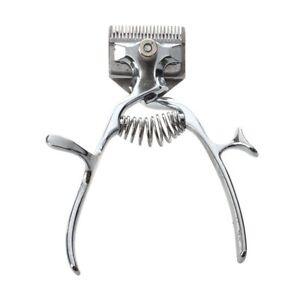 1X(Vieux Mode Coupeur de Cheveux Non-éLectrique Tondeuse à Cheveux Manuelle a1w