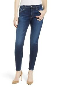 AG-Adriano-Goldschmied-NWT-Farrah-Ankle-Skinny-Jeans-High-Rise-Size-30