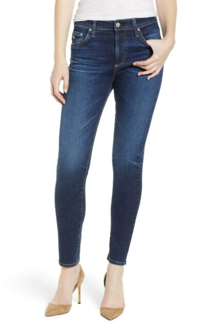 AG Adriano Goldschmied NWT Farrah Ankle Skinny Jeans High Rise Size 30