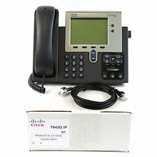 Cisco CP-7942G SIP IP Phone PoE Bulk