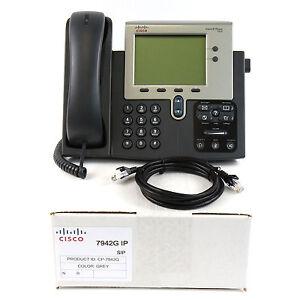 Cisco-CP-7942G-SIP-IP-Phone-PoE-Bulk