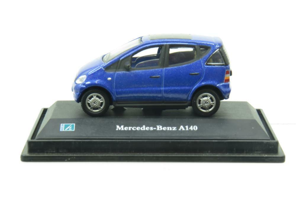 Cararama Hongwell Mercedes Benz A140 bluee 1 72 Scale Boxed