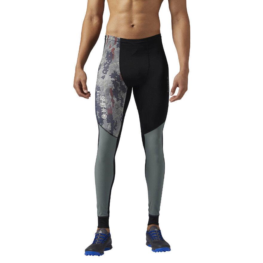 Herren Reebok Spartan Race M Compression Tight Leggings Compressed Fitnessstudio