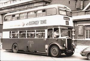 Black-amp-White-Photo-Nottingham-City-Transport-28-Leyland-Titan-PD2-40-28-ATO