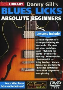 DANNY-GILLS-LICK-LIBRARY-BLUES-LICKS-FOR-ABSOLUTE-BEGINNERS-Learn-to-Play-DVD