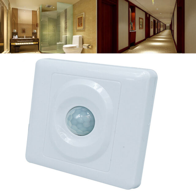 Automatic Infrared Pir Body Motion Sensor Switch For Wall Home Office Light Led