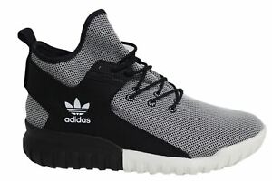 Nero Trainers Textile Hi D49 Tubular Up Lace X Adidas Bianco Mens Ba7782 7FnUqgzIOw