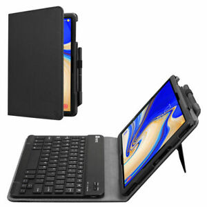 """Case with Bluetooth cordless keyboard stand for Samsung Galaxy Tab A 10.5"""" 2018"""