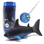 eMart Mini Remote Control Toy Electric RC Fish Boat Shark Swim in Water for Kids