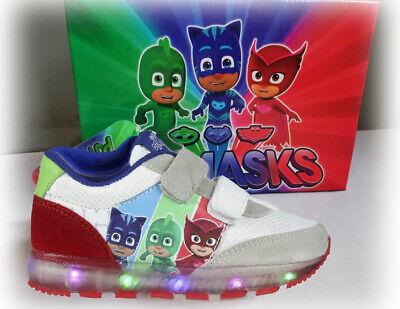 Gecko Sneaker Mask ChaussuresLed Pj Enfants SportChaussuresEulette CatboyEbay Leuchtsohle c3FK1TJl