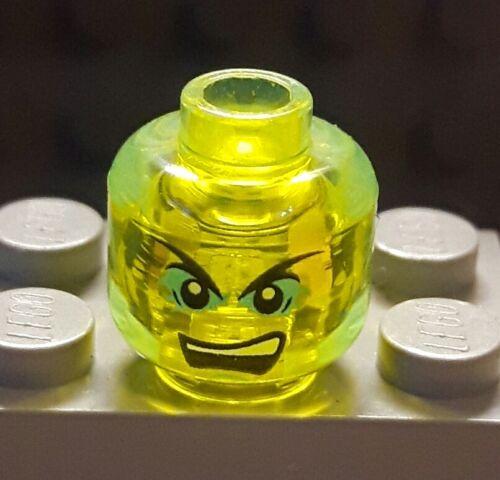 Head Morror Transparent Neuware Lego Ninjago Kopf