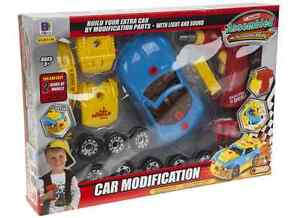image is loading build your own racing car with light sound
