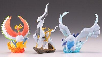"100 Pokemon 3/"" ARCEUS Promotional Figure Heart Gold /& Soul Silver Kaiyodo Lot"