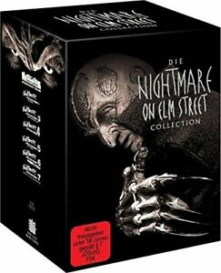 Nightmare-on-Elm-Street-1-7-Limited-Uncut-Box-DVD-Collection-Neu-7-DVD-039-s