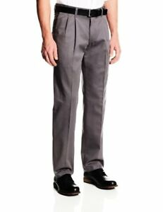 a6203797 Lee Mens Stain Resistant Relaxed Fit Pleated Pant- Pick SZ/Color. | eBay