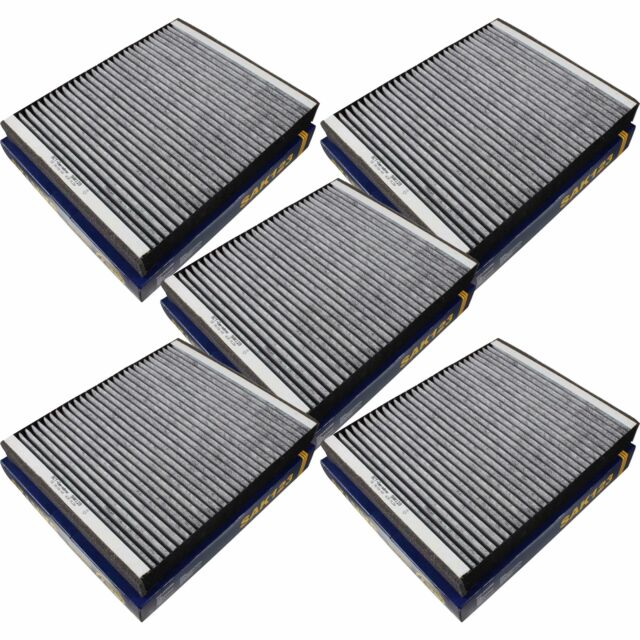 5x SCT Filter Cabin Air Pollen Filter Pollen Filter Sak 123