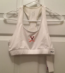 NWT Virginia UVA Cavaliers Women's Soccer Team Issued Nike Sports Bra XL