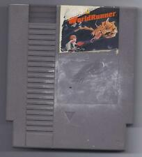 Vintage Nintendo 3D 3 D WorldRunner Video Game NES Cartriage VHTF RARE