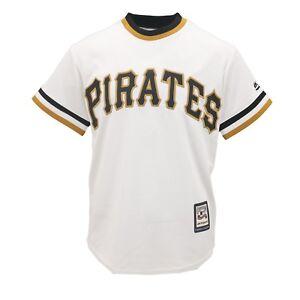 Pittsburgh-Pirates-MLB-Majestic-Cool-Base-Kids-Youth-Size-Jersey-Style-Shirt-New