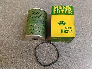 Tout Neuf Mann Filtre H931/1 Filtre à Huile Mercedes 0001849425