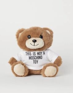 separation shoes 56133 05ba6 Details about Moschino [TV] H&M Teddy Bear iPhone Case (6/7/8) Jeremy Scott  New n Box sold out
