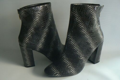 Block Heel Miss Size 8 Uk Selfridge Snake New Boots Eu 41 xnErtEP