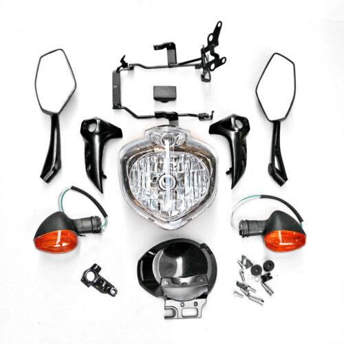 Headlight Set Head Light Kit Assembly For Yamaha FZ6N FZ6S Fazer 2004-2006 2005