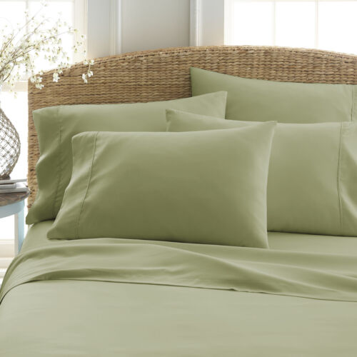 PIECE DEEP POCKET HOME COLLECTION SERIES SUPER SOFT BED SHEETS SHEET SET 6