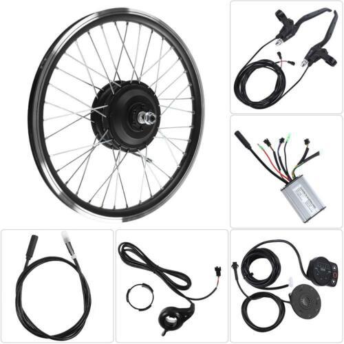 "36V//48V 350W Motors KT900S LED Display 20"" Wheel E-bike Conversion Kits Bicycle"