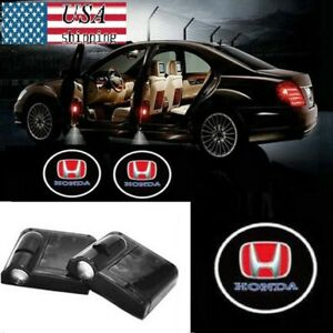 Color : 29 Car Door Welcome Light 2Pcs Wireless Car Shadow Door Light Emblen Wireless Projector Logo Led Welcome Lamp for Honda Fit Jazz Accord Civic Inspire City Odyssey