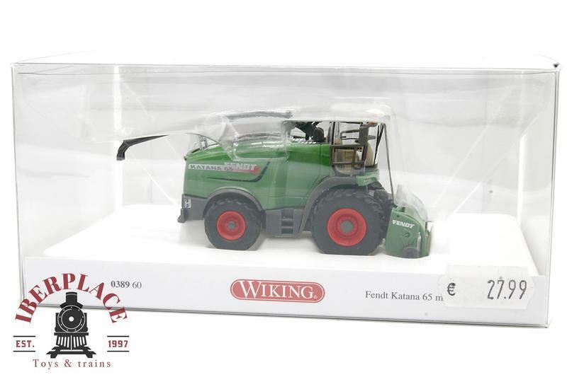 H0 1:87 escala auto-modelismo Wiking 038960 Fendt Katana 65 mit Gras pick-up