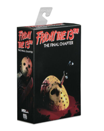 "Friday the 13th Part IV 3D JASON VOORHEES 7"" Scale Ultimate Action Figure Toys"