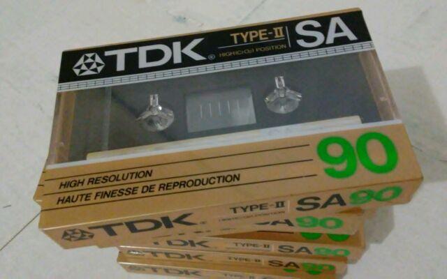 TDK SA 90 Audio Cassette Tape New Old Stock
