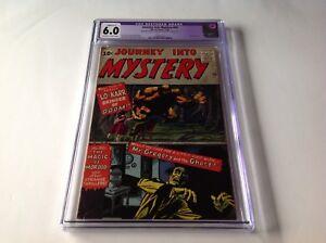 JOURNEY-INTO-MYSTERY-75-CGC-6-0-LO-KARR-STEVE-DITKO-JACK-KIRBY-MARVEL-COMICS