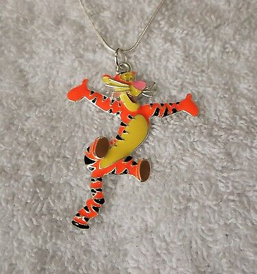 Winnie The Pooh Bear's Friend Tigro Ispirato Grande Fascino Collana-