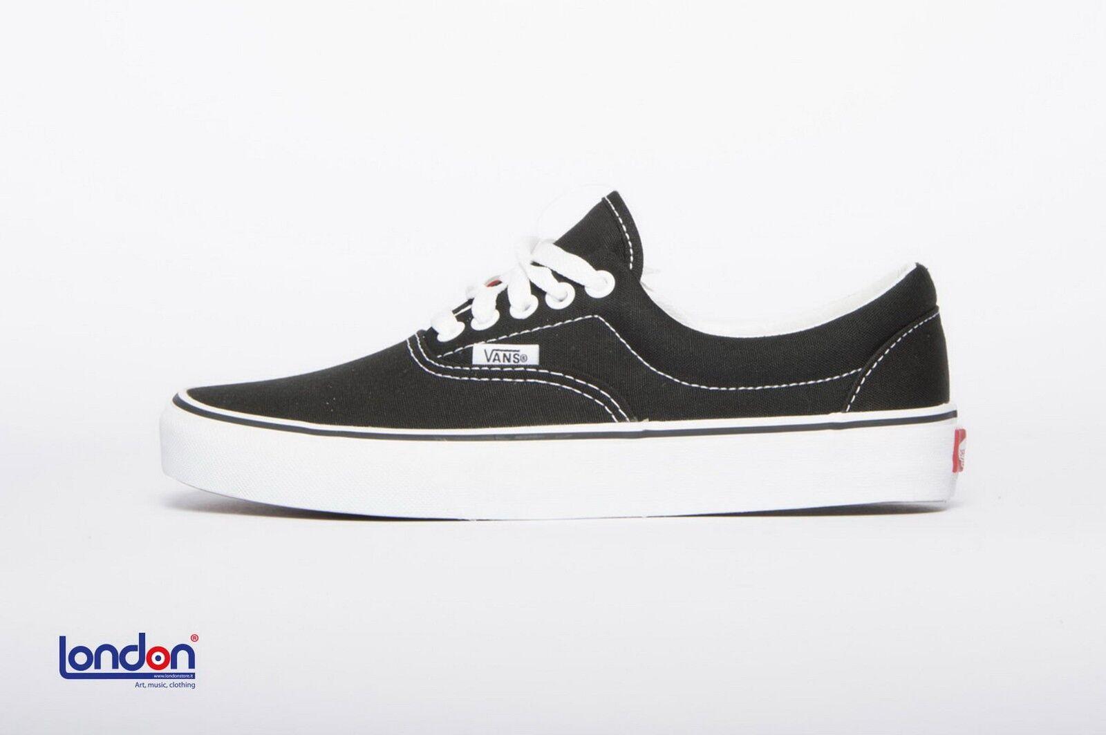 VANS shoes unisex ERA BLACK sneakers shoes
