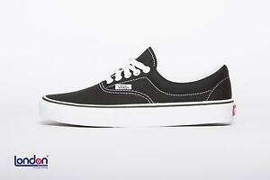 VANS scarpe unisex ERA BLACK sneakers shoes