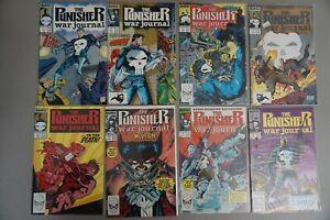 PUNISHER-War-Journal-1-62-Marvel-Lot-of-47-Comics-JIM-LEE-RUN-HOT
