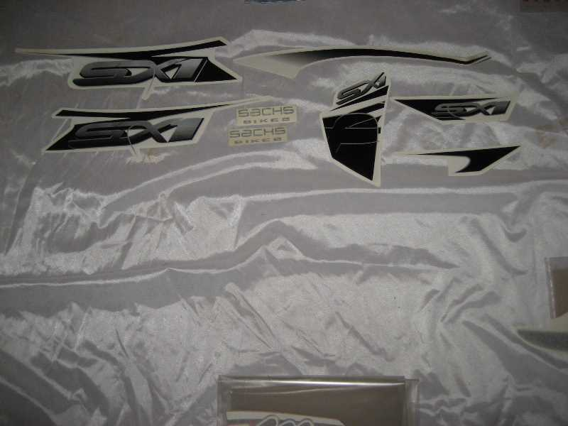 Aluminium Effekt ca.45x31 BIKES 1 Original SACHS Aufkleber B1 BE ONE