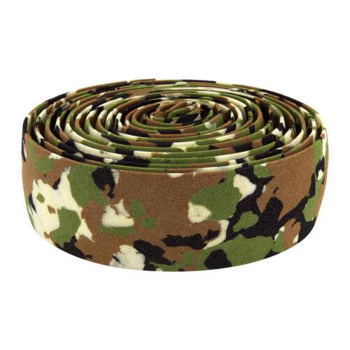 ORIGIN8 Camo Handlebar Tape EVA Foam Jungle Camo 2100mm