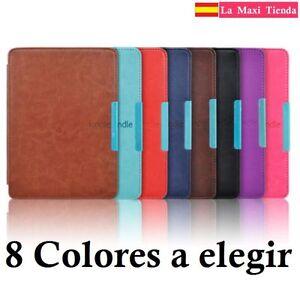 Funda-Amazon-Kindle-Paperwhite-2015-2017-Cierre-Magnetico-Funcion-Sleep-Cuero