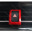 RED Center Control Safety warning button trim Fit For toyota C-HR CHR