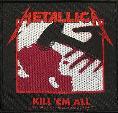 "METALLICA PATCH / AUFNÄHER # 29 ""KILL 'EM ALL"""