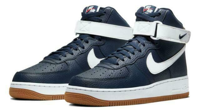 Size 9 - Nike Air Force 1 High Obsidian for sale online | eBay