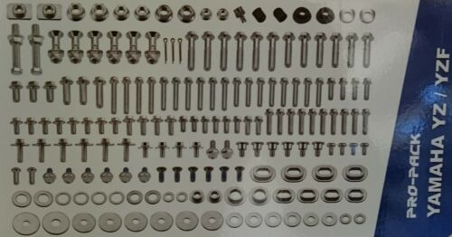 NEW RFX PRO BOLT PACK BOLTS /& FASTENERS KIT FOR YAMAHA YZ125 YZ250 2008